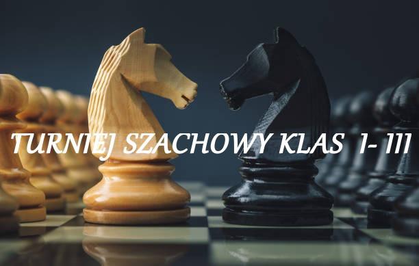 Turniej szachowy klas I-III